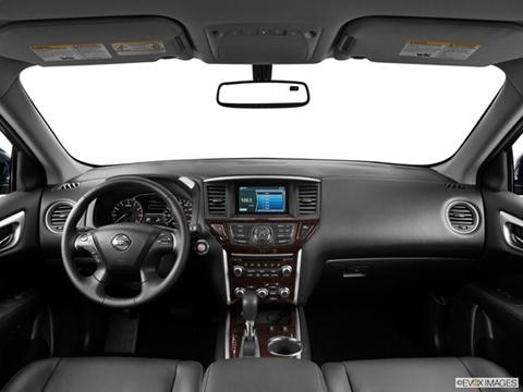 2013 Nissan Pathfinder 4-door SV  Sport Utility Dashboard, center console, gear shifter view photo