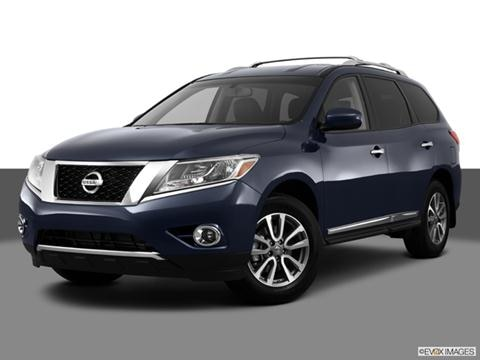 2013 Nissan Pathfinder 4-door SV  Sport Utility Front angle medium view photo