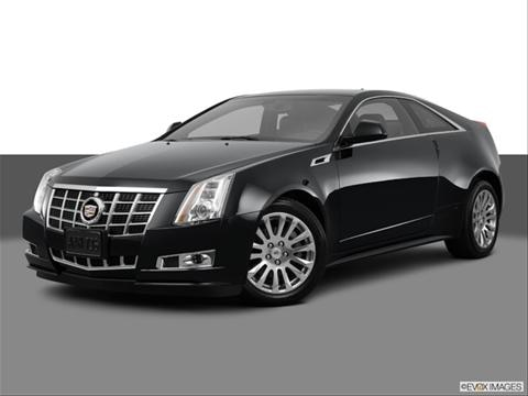 2014 Cadillac CTS 2-door 3.6 Premium Collection  Coupe Front angle medium view photo