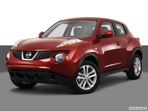 2013 Nissan JUKE 4-door S  Sport Utility Front angle medium view photo