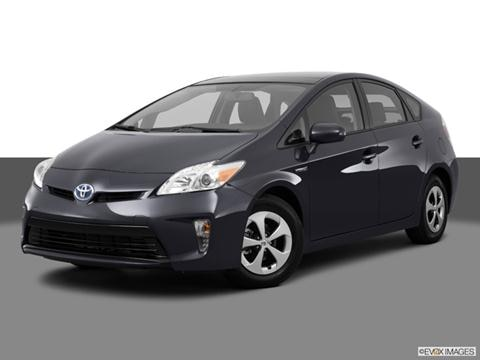 2013 Toyota Prius 4-door Four  Hatchback Front angle medium view photo
