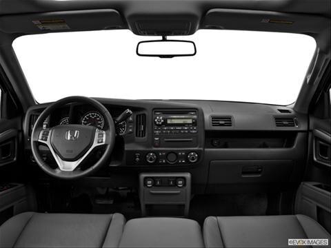 2014 Honda Ridgeline 4-door RT  Pickup Dashboard, center console, gear shifter view photo
