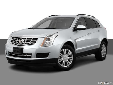 2014 Cadillac SRX 4-door   Sport Utility Front angle medium view photo