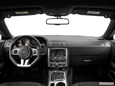 2014 Dodge Challenger 2-door SRT8  Coupe Dashboard, center console, gear shifter view photo