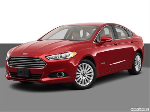 2013 Ford Fusion 4-door SE Hybrid  Sedan Front angle medium view photo