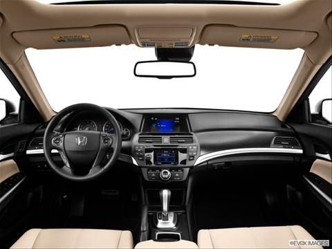 2013 Honda Crosstour 4-door EX  Sport Utility Dashboard, center console, gear shifter view photo