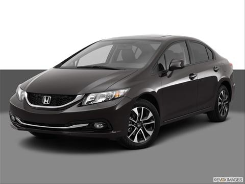 2013 Honda Civic 4-door EX-L  Sedan Front angle medium view photo