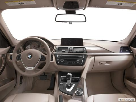 2013 BMW 3 Series 4-door ActiveHybrid 3  Sedan Dashboard, center console, gear shifter view photo