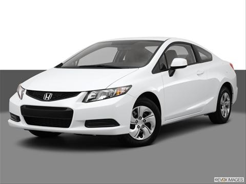 2013 Honda Civic 2-door LX  Coupe Front angle medium view photo