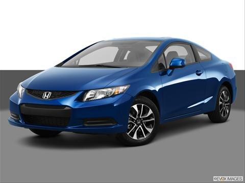 2013 Honda Civic 2-door EX  Coupe Front angle medium view photo