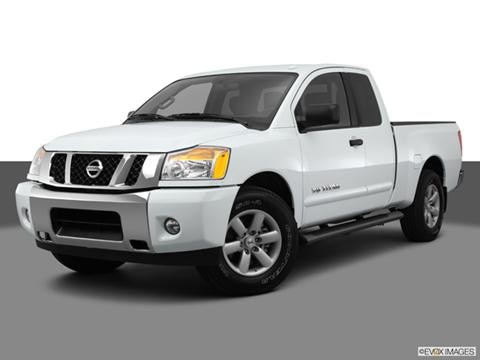 2014 Nissan Titan King Cab 4-door S  Pickup Front angle medium view photo