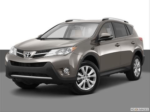 2013 Toyota RAV4 4-door EV  Sport Utility Front angle medium view photo