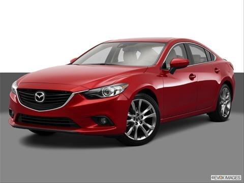 2014 Mazda MAZDA6 4-door i Grand Touring  Sedan Front angle medium view photo
