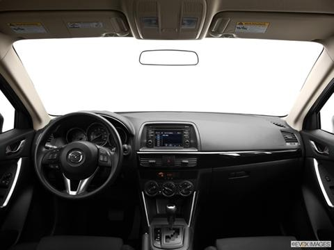 2014 Mazda CX-5 4-door Sport  Sport Utility Dashboard, center console, gear shifter view photo