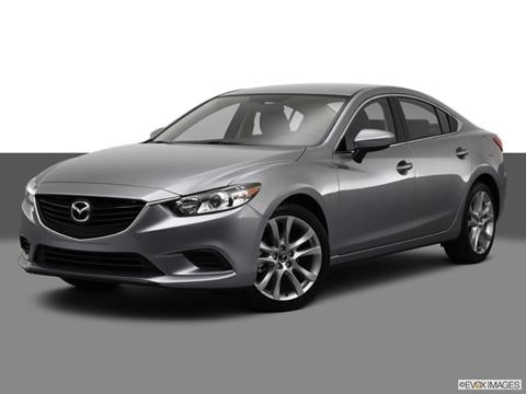 2014 Mazda MAZDA6 4-door i Touring  Sedan Front angle medium view photo