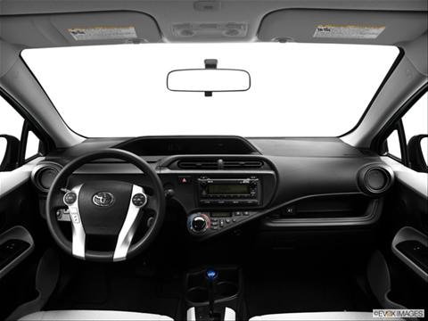 2013 Toyota Prius c 4-door One  Hatchback Dashboard, center console, gear shifter view photo