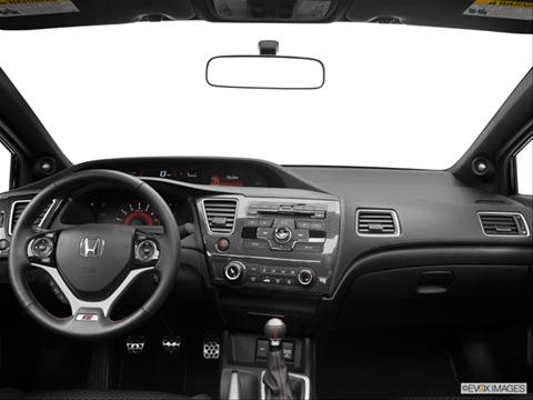 2013 Honda Civic 2-door Si  Coupe Dashboard, center console, gear shifter view photo