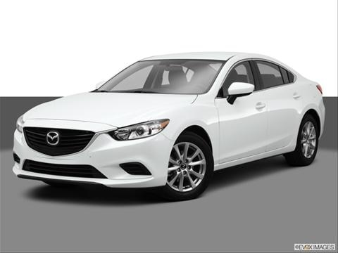2014 Mazda MAZDA6 4-door i Sport  Sedan Front angle medium view photo