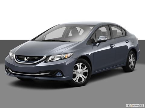 2013 Honda Civic 4-door Hybrid  Sedan Front angle medium view photo