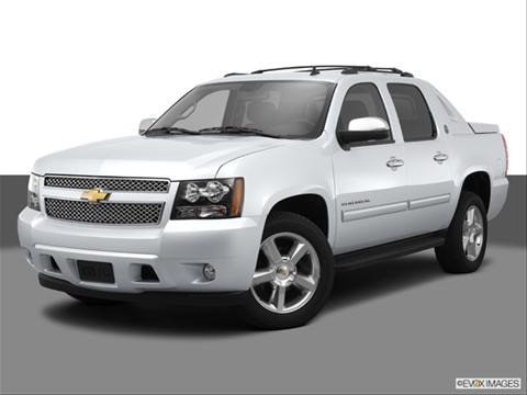 2013 Chevrolet Avalanche 4-door Black Diamond LS  Sport Utility Pickup Front angle medium view photo