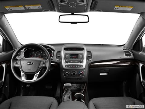 2014 Kia Sorento 4-door LX  Sport Utility Dashboard, center console, gear shifter view photo