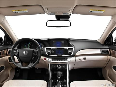 2014 Honda Accord 4-door Plug-in Hybrid  Sedan Dashboard, center console, gear shifter view photo