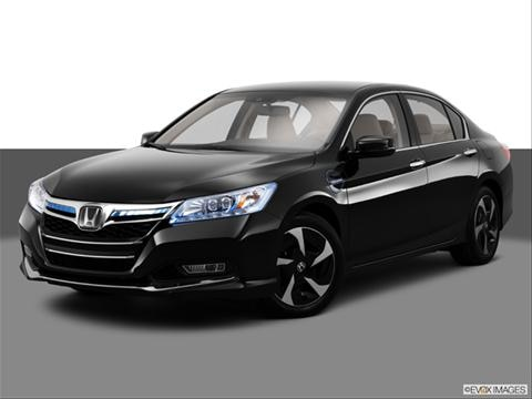 2014 Honda Accord 4-door Plug-in Hybrid  Sedan Front angle medium view photo