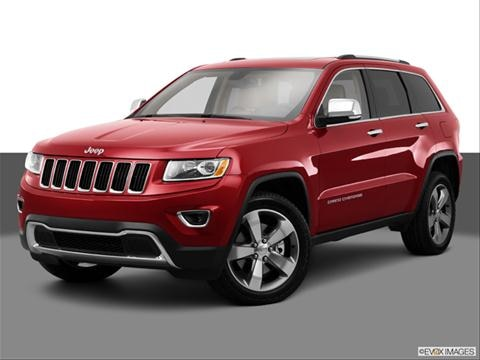 2014 Jeep Grand Cherokee 4-door Limited  Sport Utility Front angle medium view photo