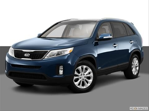 2014 Kia Sorento 4-door EX  Sport Utility Front angle medium view photo