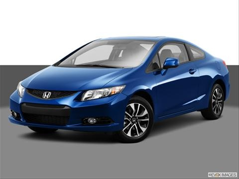 2013 Honda Civic 2-door EX-L  Coupe Front angle medium view photo
