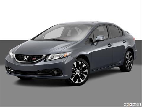 2013 Honda Civic 4-door Si  Sedan Front angle medium view photo