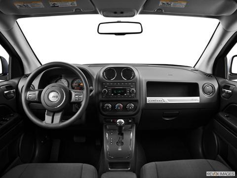 2014 Jeep Compass 4-door Sport  Sport Utility Dashboard, center console, gear shifter view photo