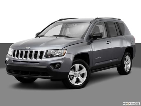 2014 Jeep Compass 4-door Sport  Sport Utility Front angle medium view photo