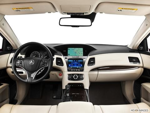 2014 Acura RLX 4-door   Sedan Dashboard, center console, gear shifter view photo