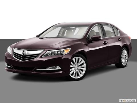 2014 Acura RLX 4-door   Sedan Front angle medium view photo