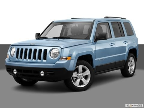 2014 Jeep Patriot 4-door Limited  Sport Utility Front angle medium view photo