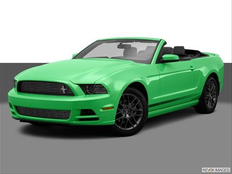 2014 Ford Mustang 2-door V6 Premium  Convertible Front angle medium view photo