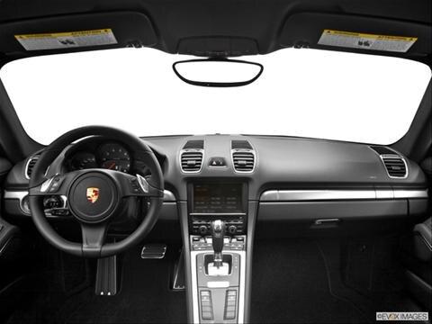 2014 Porsche Cayman 2-door   Coupe Dashboard, center console, gear shifter view photo