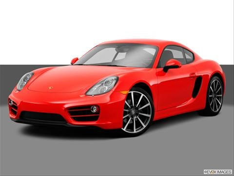 2014 Porsche Cayman 2-door   Coupe Front angle medium view photo