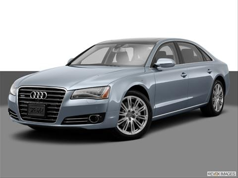 2014 Audi A8 4-door L TDI  Sedan Front angle medium view photo