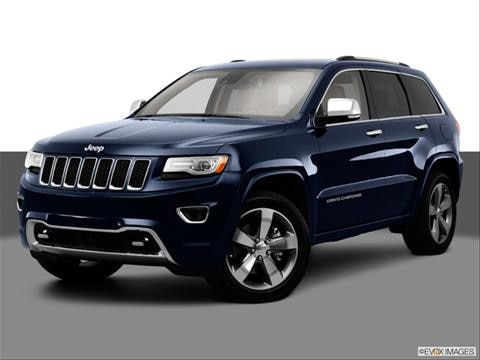 2014 Jeep Grand Cherokee 4-door Overland  Sport Utility Front angle medium view photo