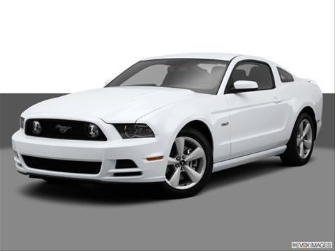 2014 Ford Mustang 2-door GT  Coupe Front angle medium view photo