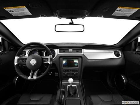 2014 Ford Mustang 2-door Shelby GT500  Coupe Dashboard, center console, gear shifter view photo