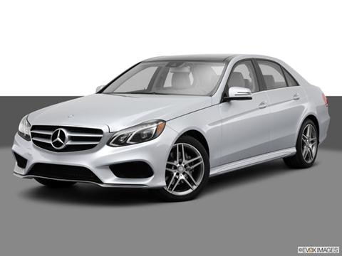 2014 Mercedes-Benz E-Class 4-door E250 BlueTEC  Sedan Front angle medium view photo