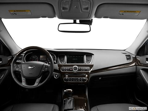 2014 Kia Cadenza 4-door Premium  Sedan Dashboard, center console, gear shifter view photo