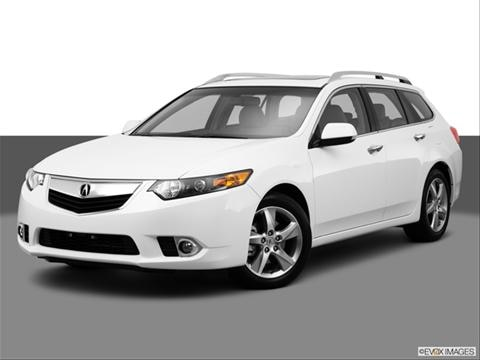 2014 Acura TSX 4-door   Wagon Front angle medium view photo