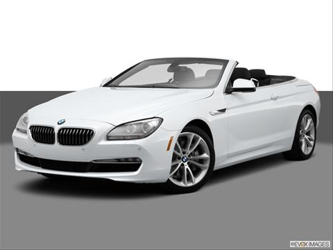 2014 BMW 6 Series 2-door 640i  Convertible Front angle medium view photo