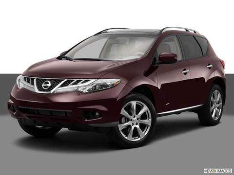 2014 Nissan Murano 4-door LE  Sport Utility Front angle medium view photo