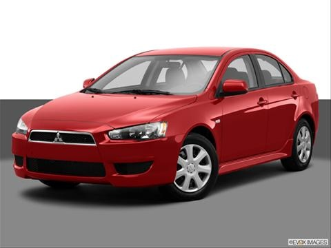 2014 Mitsubishi Lancer 4-door ES  Sedan Front angle medium view photo