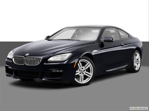 2014 BMW 6 Series 2-door 640i xDrive  Coupe Front angle medium view photo